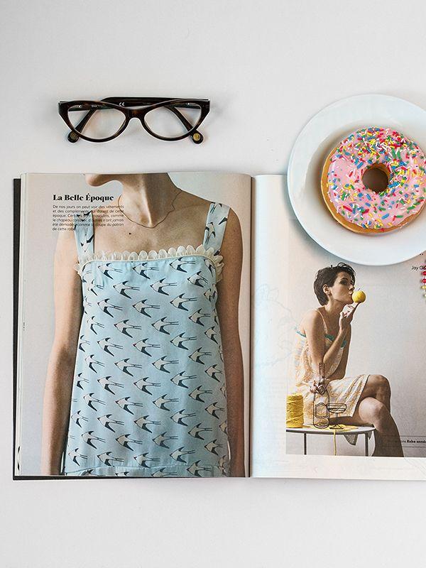 Compra los patrones de la revista The Sewing Box