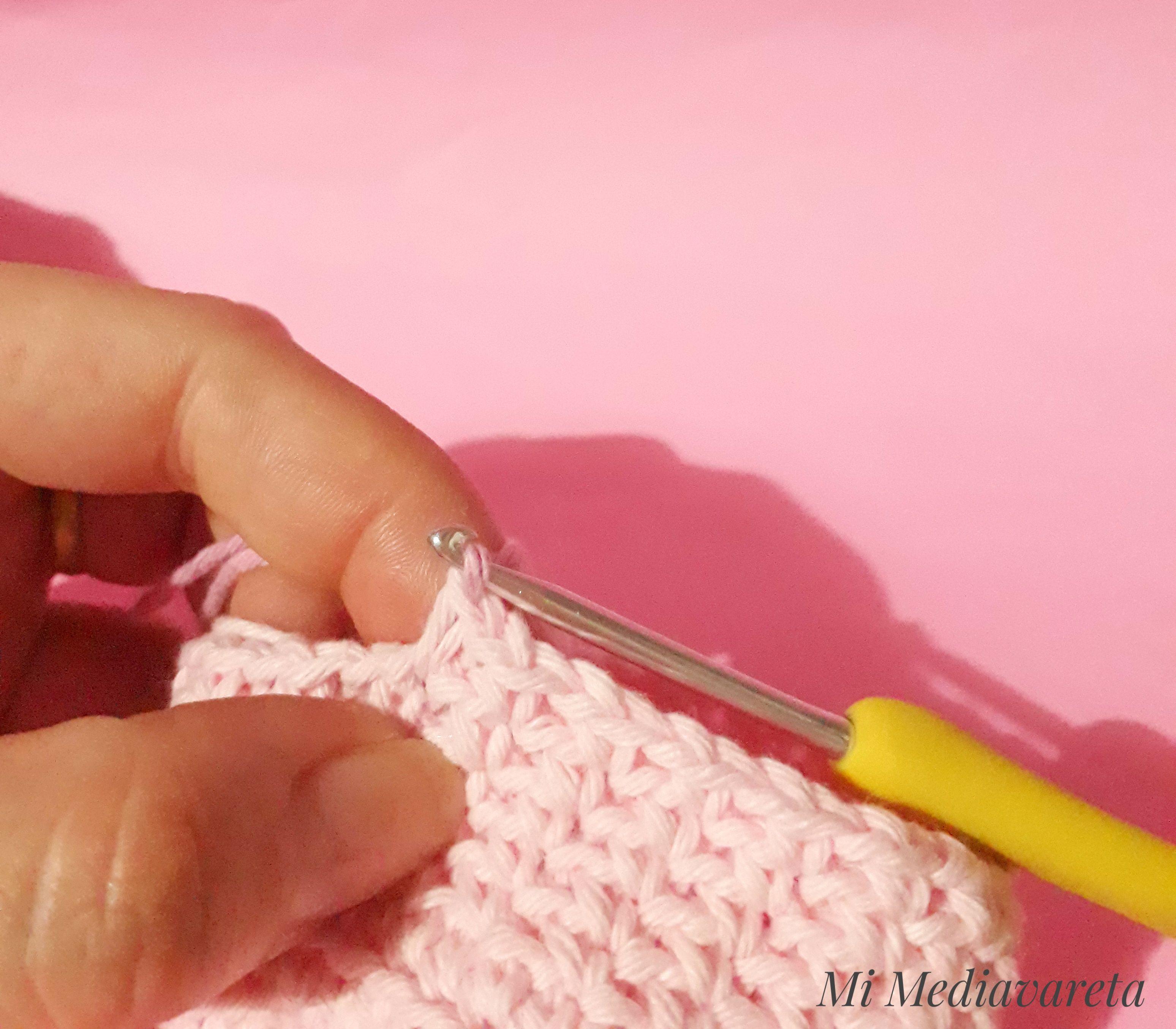 Cambio de color a crochet