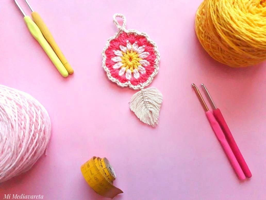 Llavero crochet
