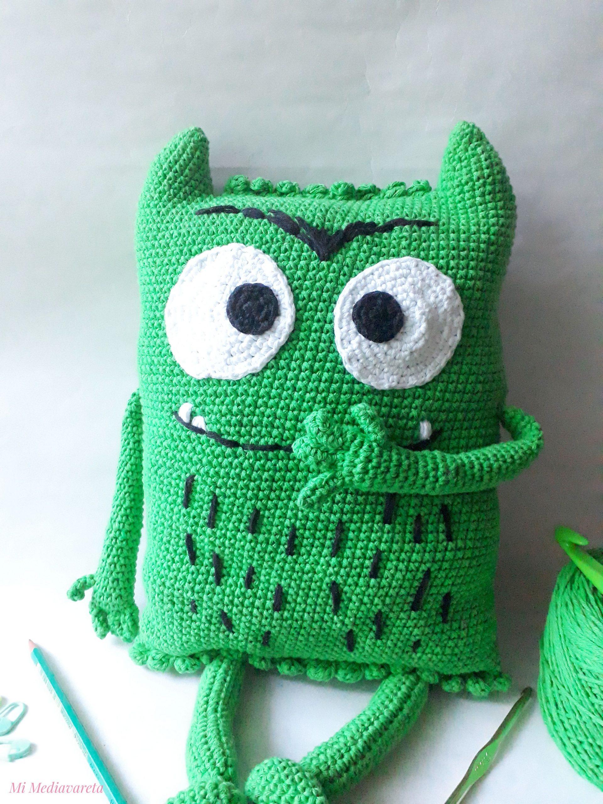 mostruo de los colores a crochet