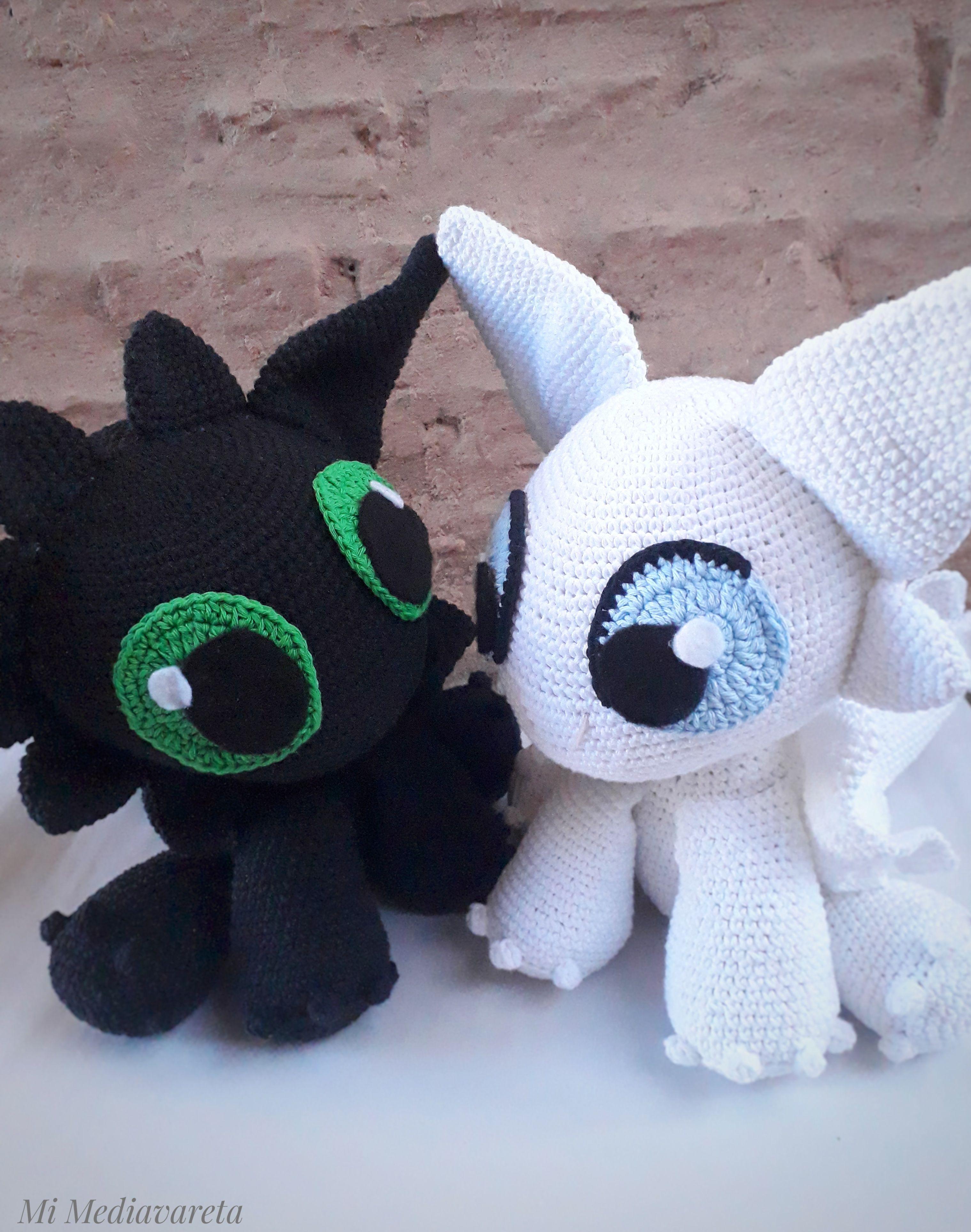 Toothless crochet chimuelo
