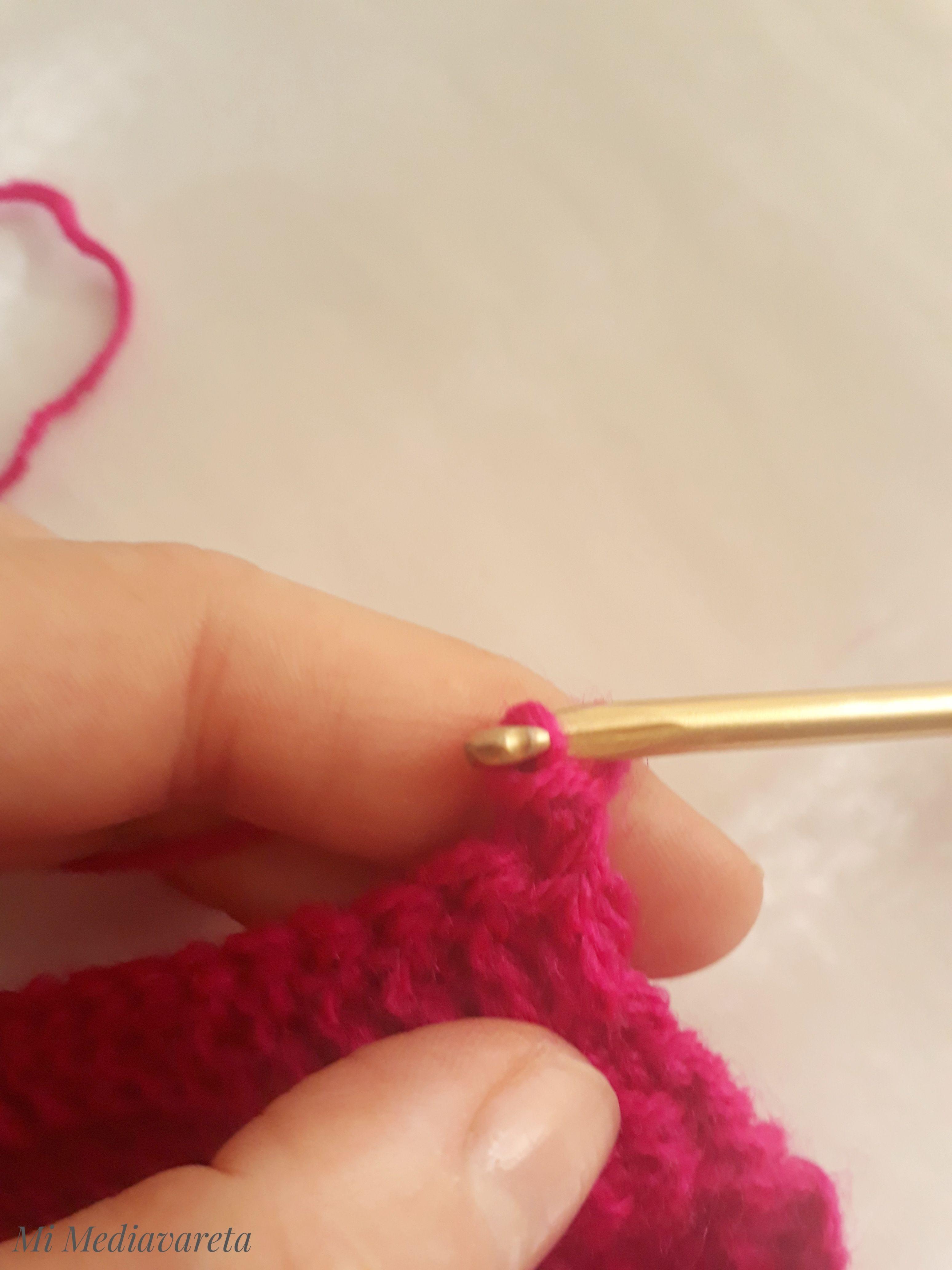 Punto enano crochet