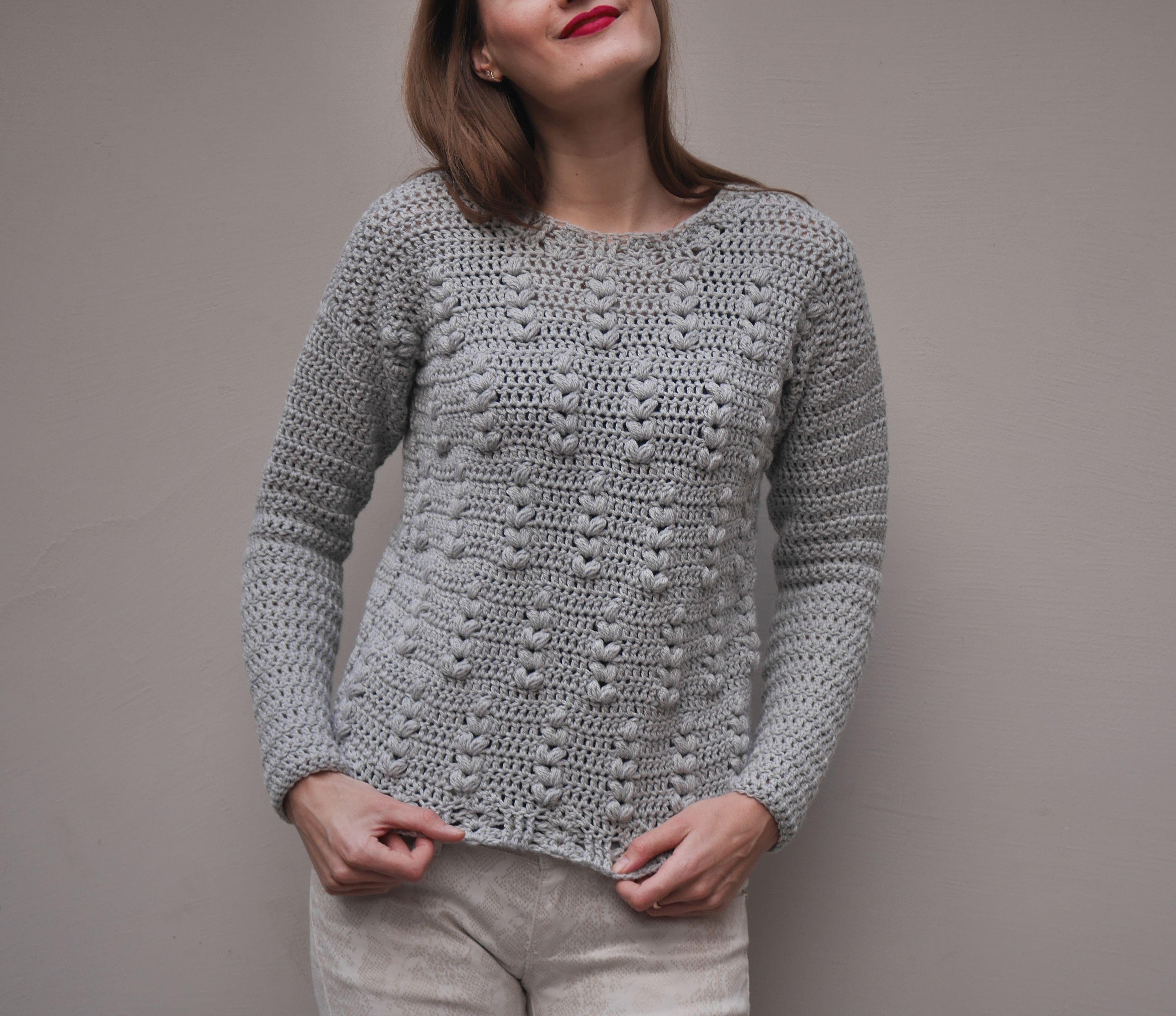 Sweater raglan