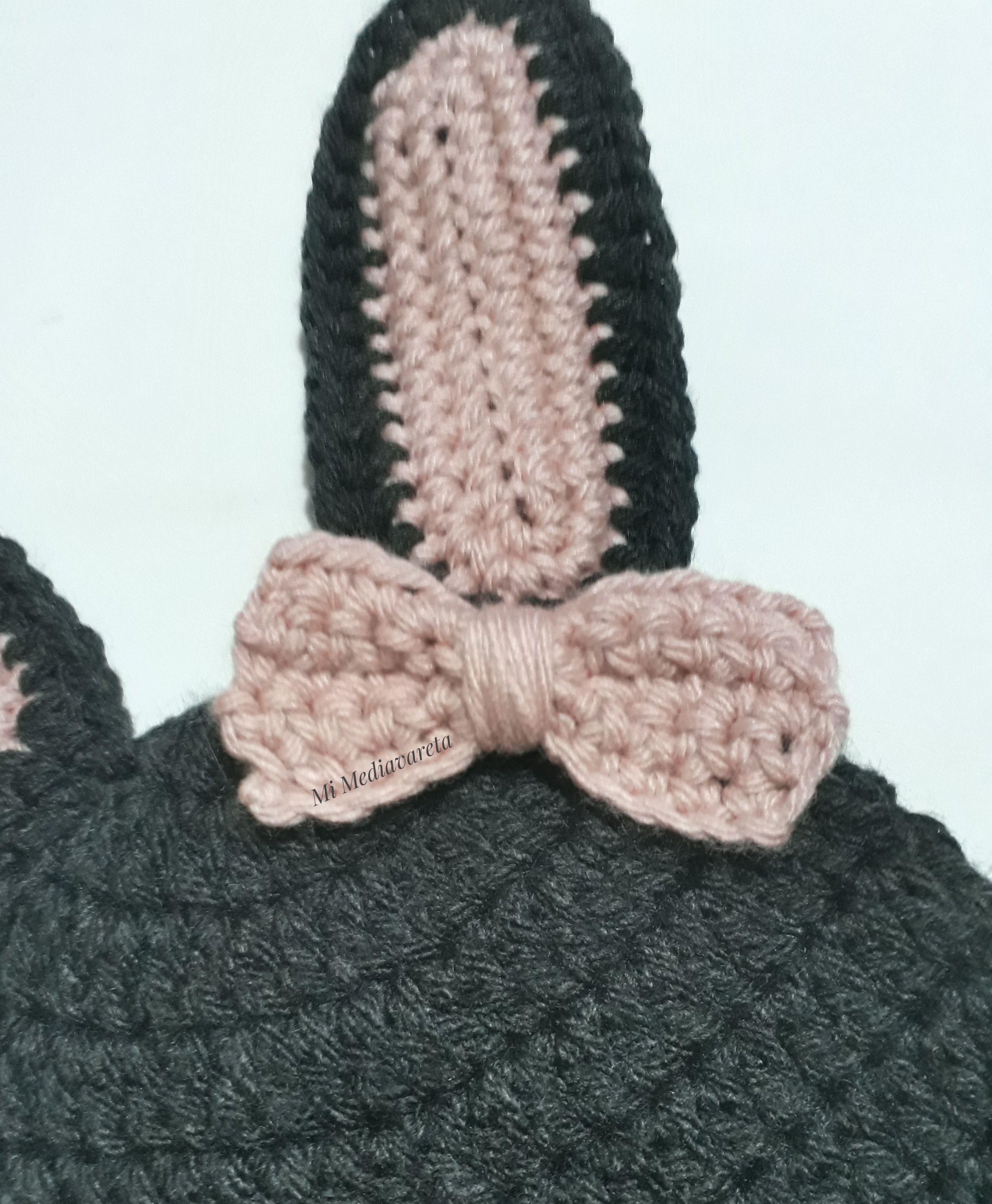 moño a crochet