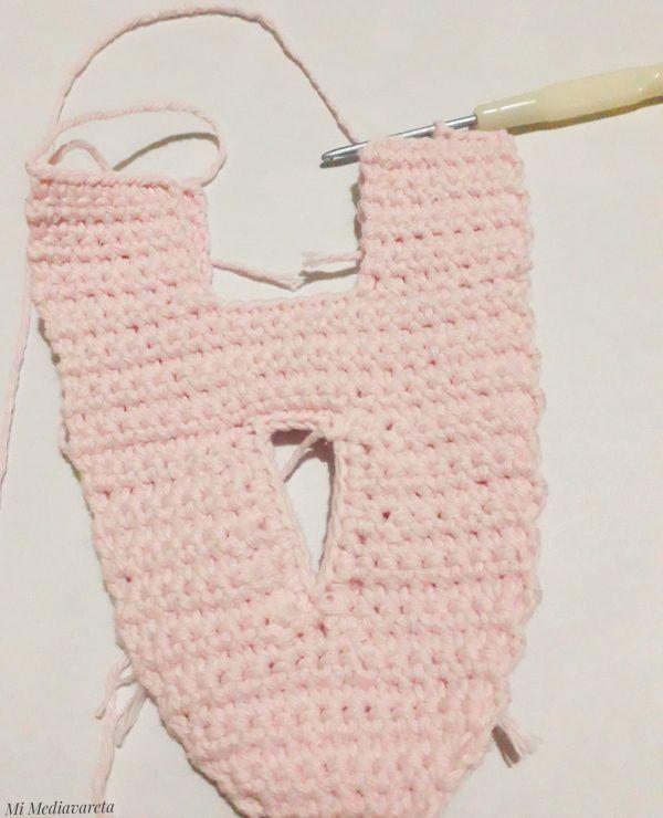 letras tejidas a crochet