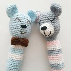 tutorial para tejer un sonajero a crochet