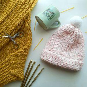 Aprende a tejer gorros desde cero a crochet