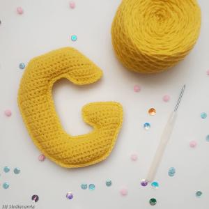 Letra G a crochet