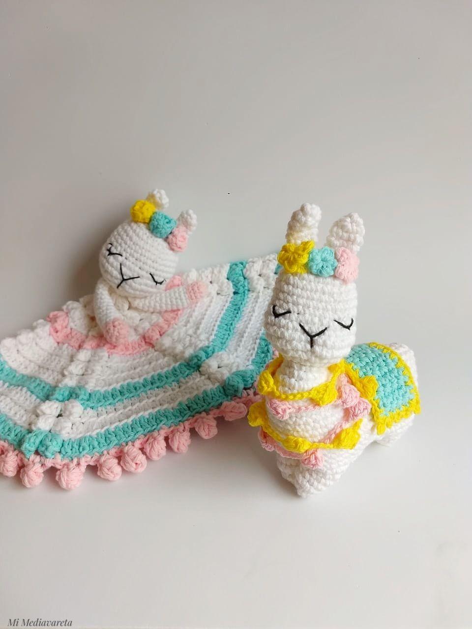patrón de crochet para aprender a tejer llamas a crochet