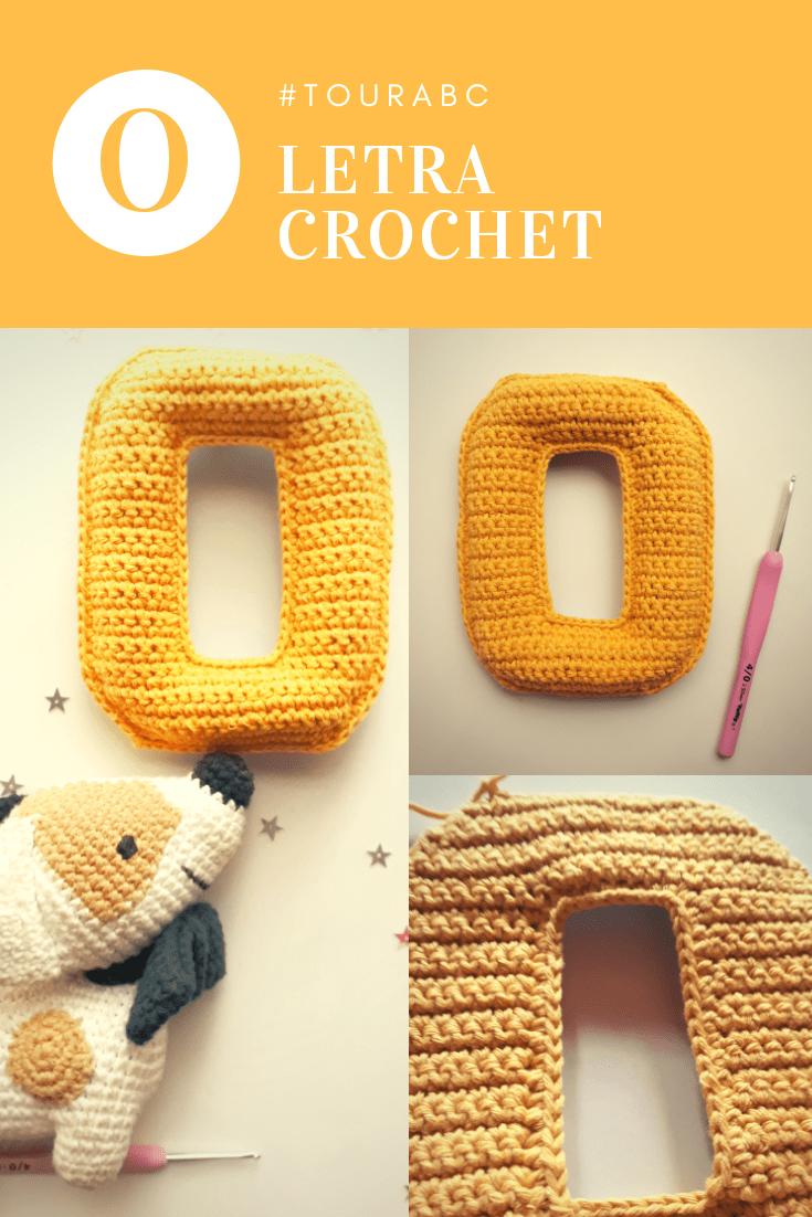 Tutorial paratejer la letra del abecedario a crochet