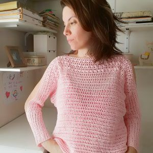 tutorial para tejer un sweater a crochet