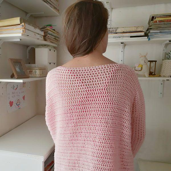 patron sueter a crochet paso a paso