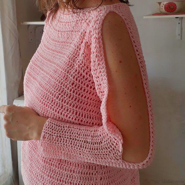 sueter a crochet con fotos paso a paso