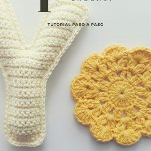 tutorial gratuito para tejer la letra Y a crochet