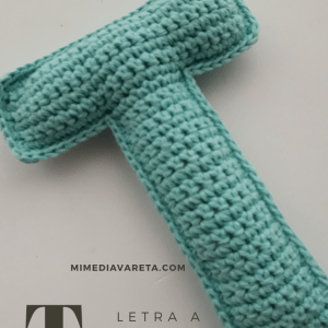 Como tejer las letras del abecedario a crochet?