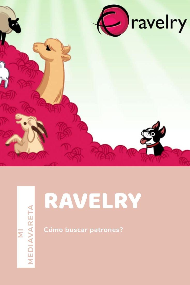 tutorial para aprender a buscar patrones en Ravelry