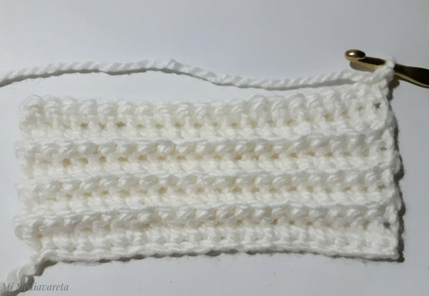 tutorial gorro a crochet en punto falso elástico paso a paso