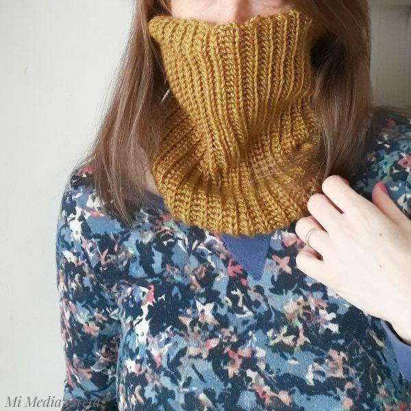 aprende a tejer un cuello a crochet paso a paso