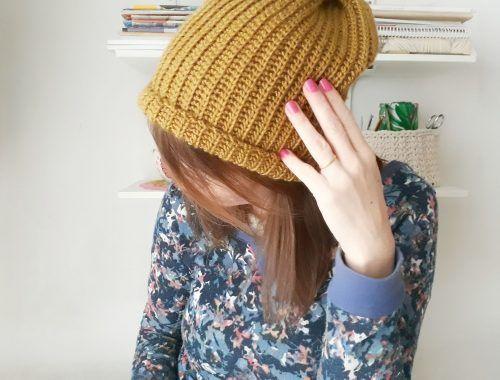 gorro a crochet paso a paso
