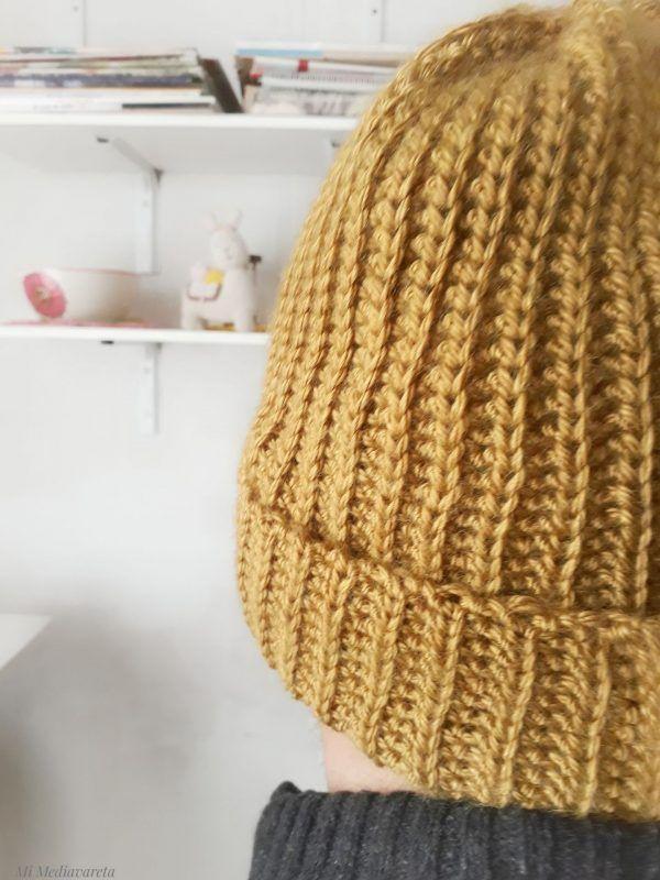 aprende a tejer un gorro a crochet paso a paso