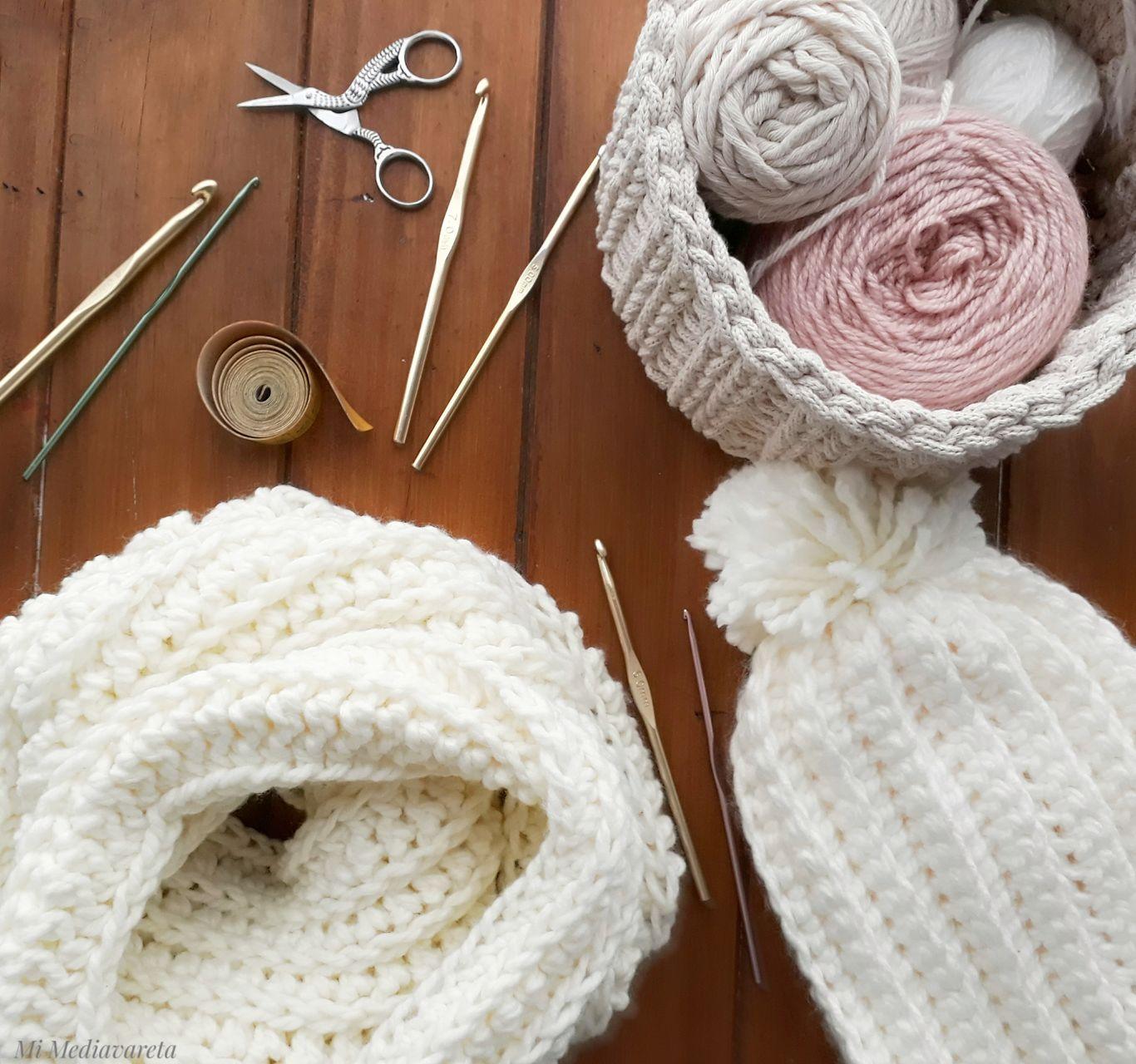 Aprende a tejer una bufanda infinita a crochet