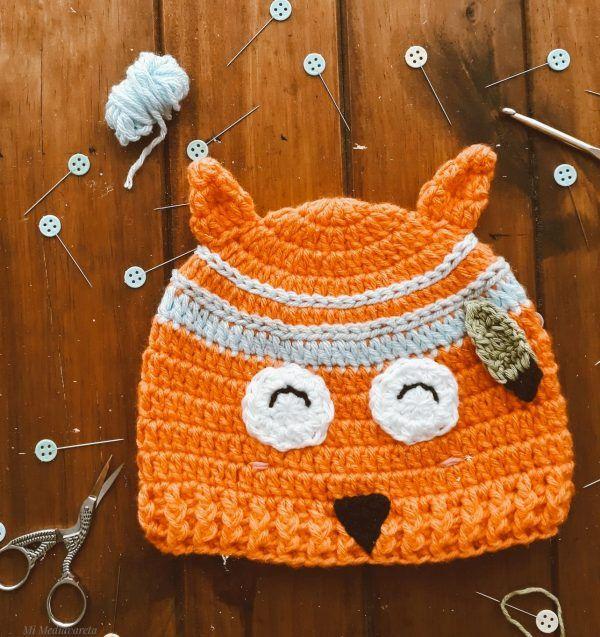 Patrón zorro crochet