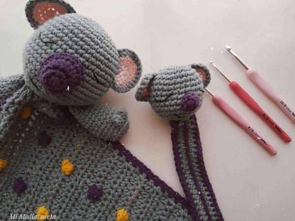 patrón koala a crochet