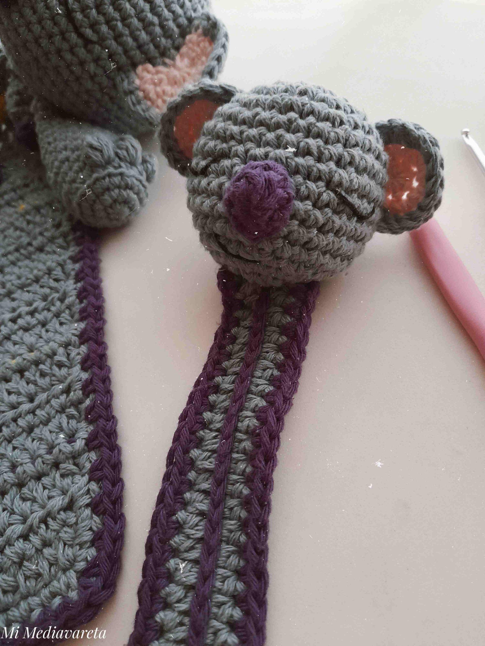 patrón porta chupete a crochet