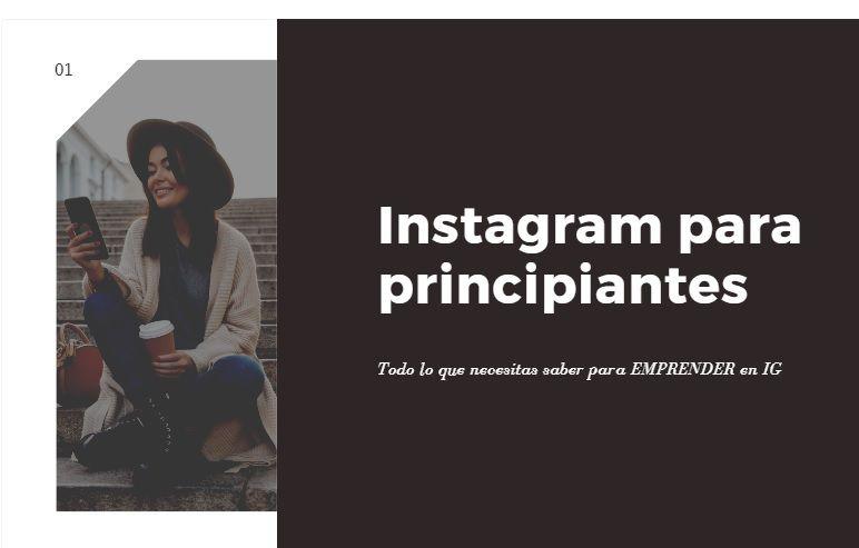 Este es un curso online para que aprendas a usar Instagram desde cero. Instagram para principiantes