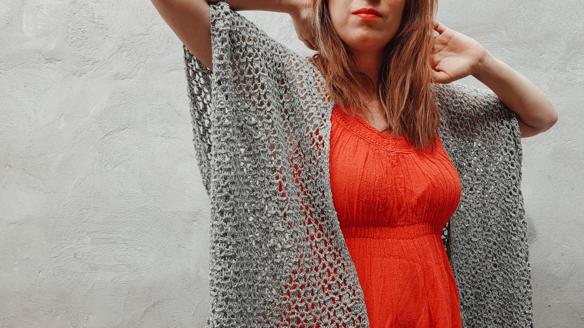 tutorial saco fácil a crochet