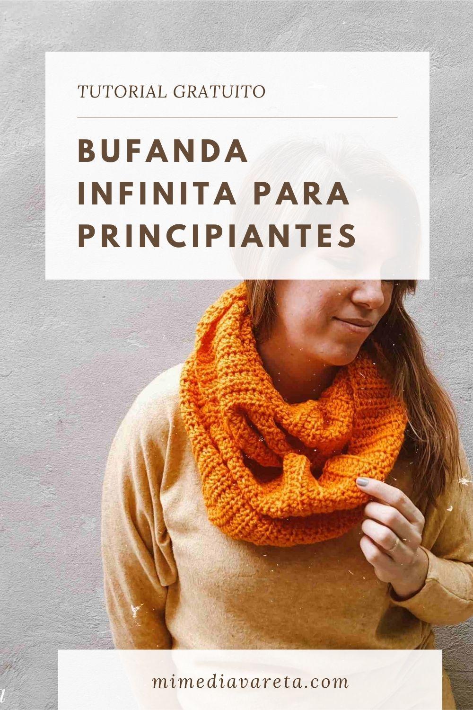 Cómo hacer una Bufanda a crochet? Sin experiencia