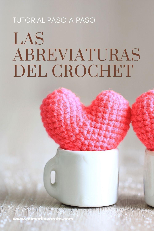 En este artículo vamos aprender acerca de las Abreviaturas del crochet
