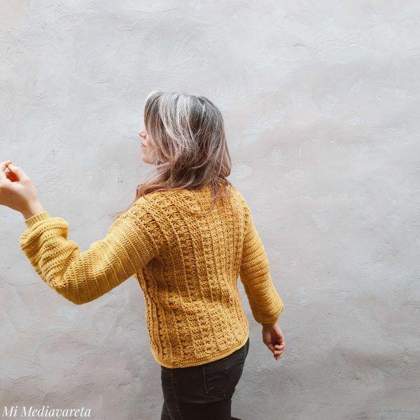 Sweater mujer crochet