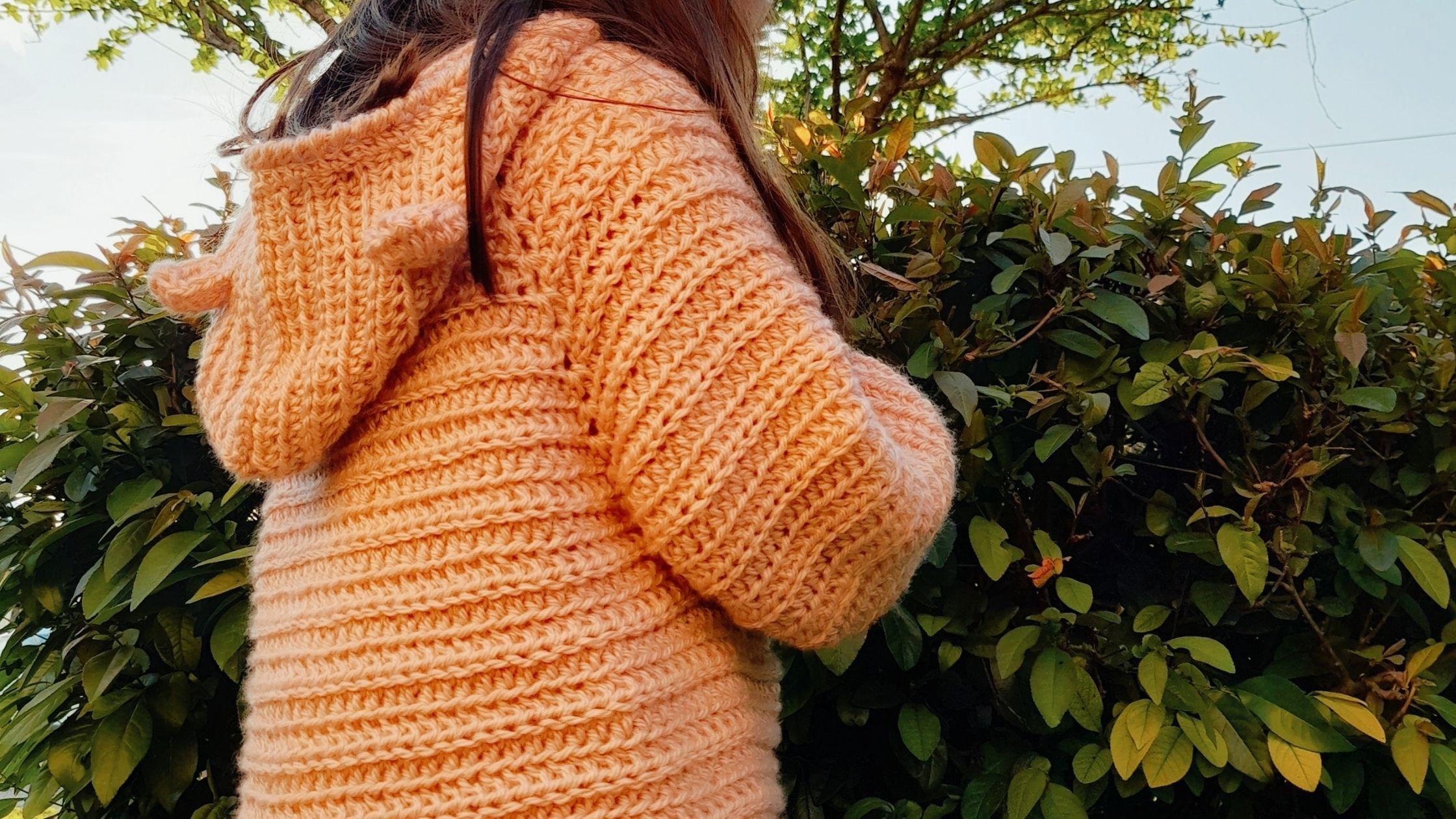 Cómo tejer una Campera Top Down a crochet para niñas/ niños- UNISEX- paso a paso en ESPAÑOL